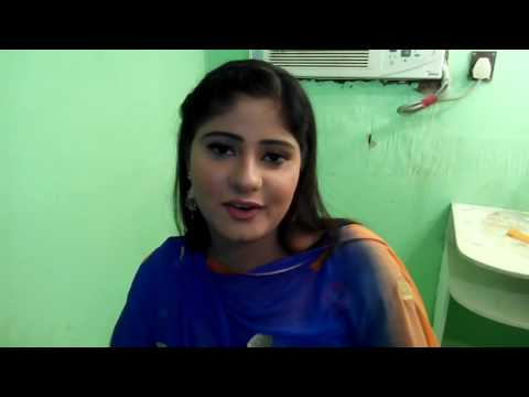 APNA SAMACHAR: Rajasthani Queen Film Actress Neha Shree On Set Bhojpuri Movie Tridev With Team.