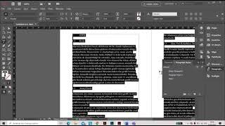 Adobe Indesignda Dizginin Temelleri (Fundementals of Typesetting in Adobe Indesign), Book Mizanpaj