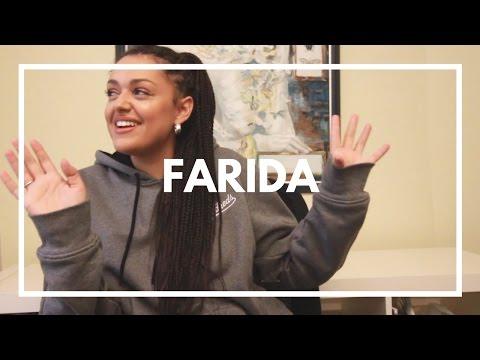 Farida-intervju om hype, norsk musikk og rap.   YLTV