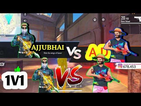 Ajju Bhai Vs AD | 1 Vs 1 || Safe Army
