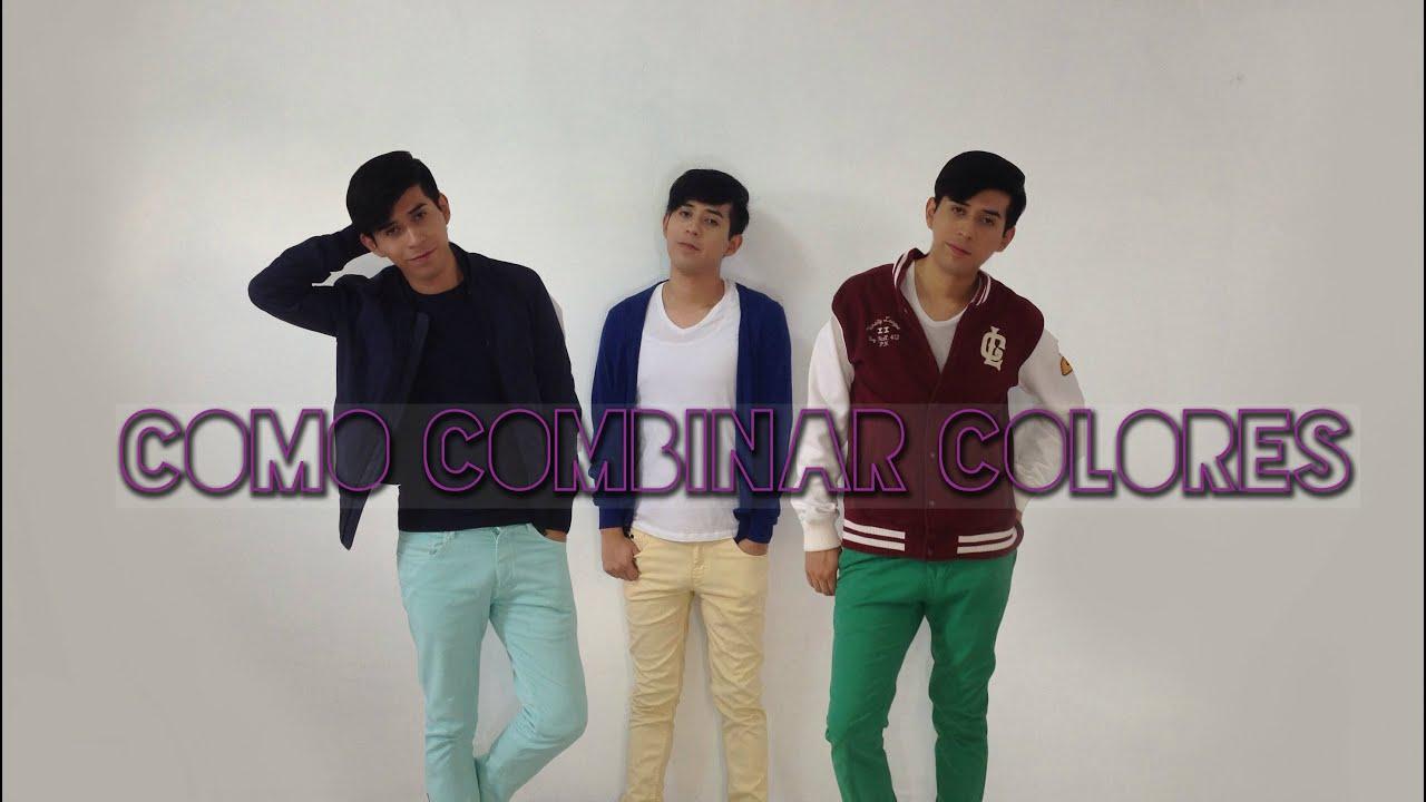 Como combinar colores en la ropa youtube - Colores para combinar ...