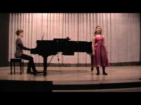 Katie singing Oh No John