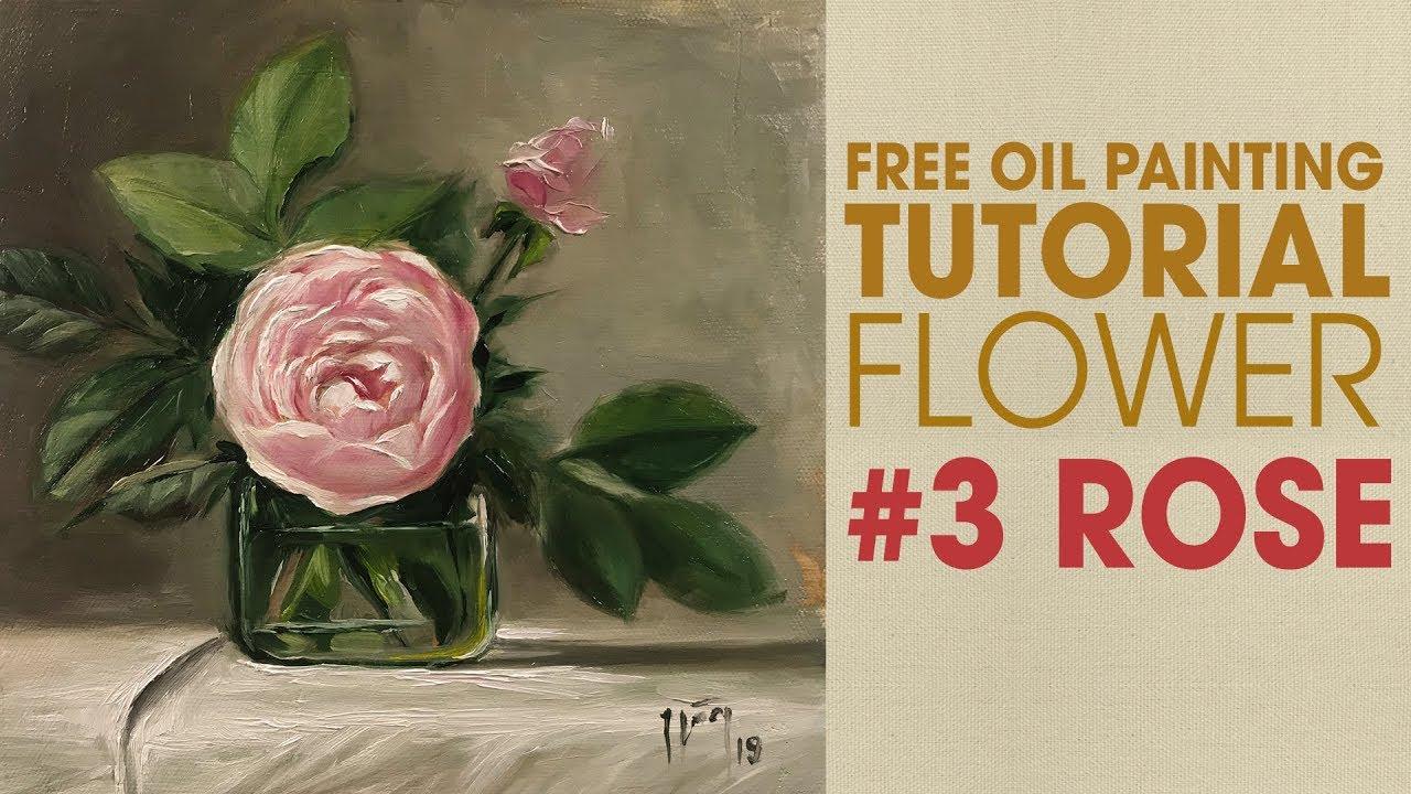 How to paint rose petals, jane jones, oil painting flowers, still life.