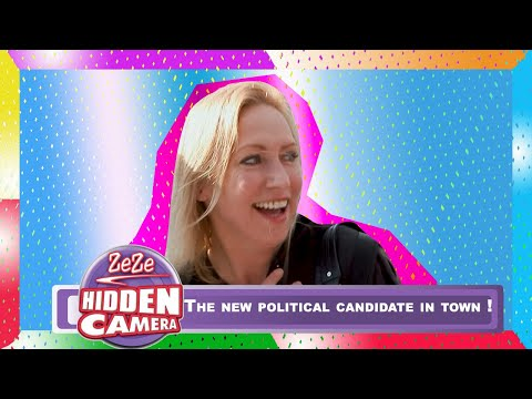 ZeZe Hidden Camera | The New Political Candidate In Town !