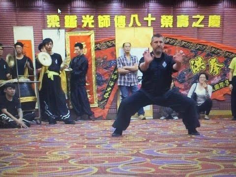 Kung Fu performance in Hong Kong 2016