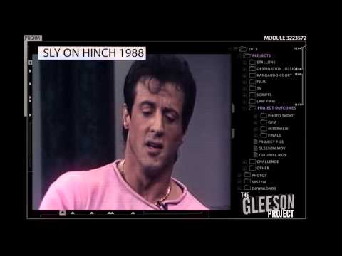 Sylvester Stallone guest on Hinch ~ 1988