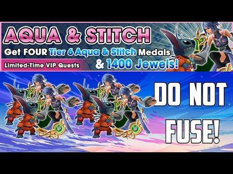 DO NOT FUSE THESE MEDALS - Kingdom Hearts Union X