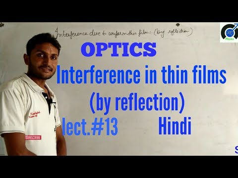 Interference In Thin Films In Hindi