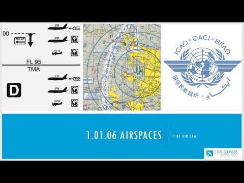 1.01 Airlaw. Part 06  - Airspace classification