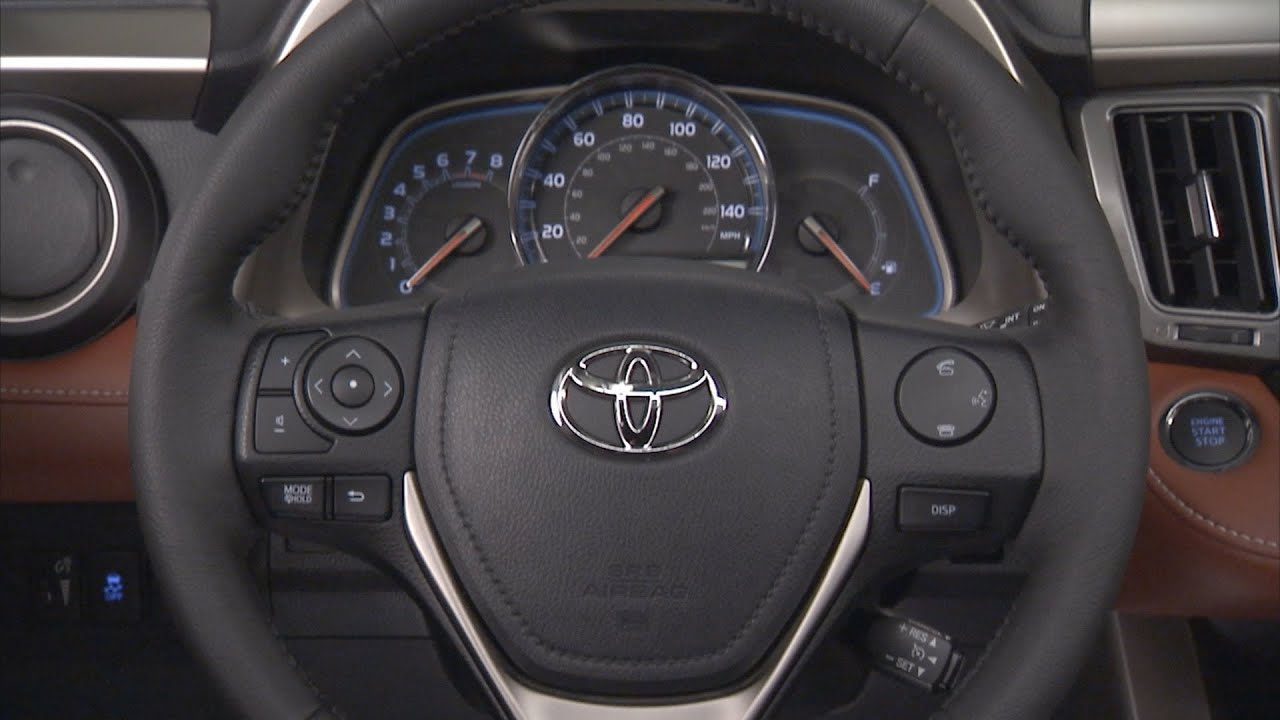 Beautiful ▻ 2013 Toyota RAV4   INTERIOR [HD]   YouTube