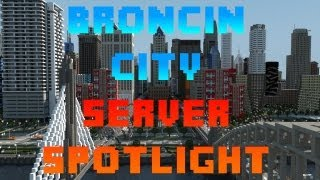 Broncin City Server Spotlight - Economy/Prison/Classes/PVP/Mini-Games - Dedicated Minecraft Server