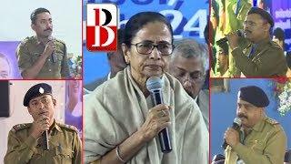 নামখানায় মুখ্যমন্ত্রীর সামনে বিতর্কে জড়ালেন এমএলএ-পুলিশ। Breaking Bengal