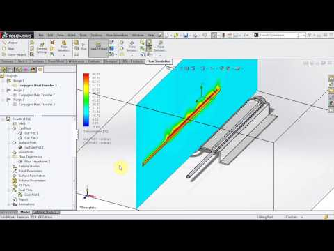 SOLIDWORKS Flow Simulation - Conjugate Heat Transfer