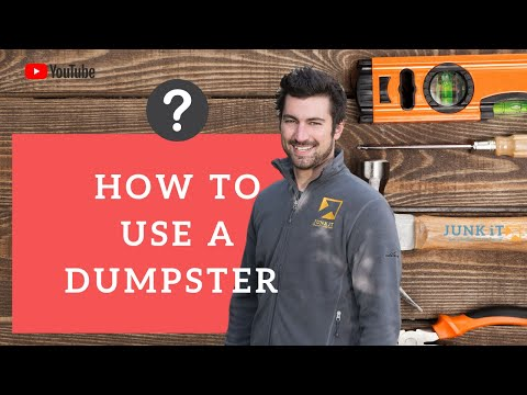 Junk It: Dumpster Rental: How To Open Your Self Service Dumpster