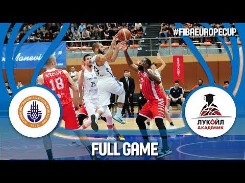 Istanbul BBSK (TUR) v Lukoil Academic (BUL) - Full Game - FIBA Europe Cup 2017-18