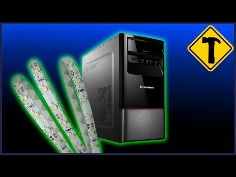 видео: Как подключить светодиодную ленту к компьютеру