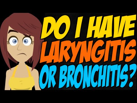 Do I Have Laryngitis or Bronchitis?