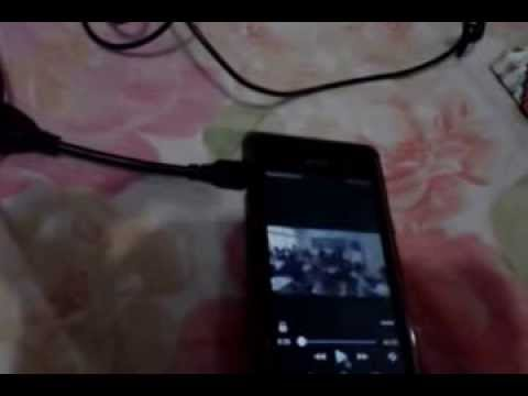 Sony Xperia M USB On The Go (OTG) - Mouse Support Demo