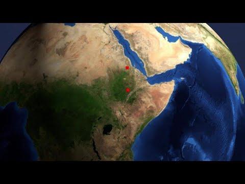 أول رحلة جوية بين اثيوبيا واريتريا منذ عقدين