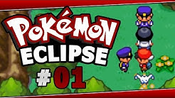 Pokemon Eclipse (Rom Hack) Part 1 Unique Start! Walkthrough Gameplay W/ Voltsy