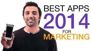 Best Apps 2014 for Marketing - iOS and Android