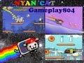 WallyCat Nyan Cat Gameplay