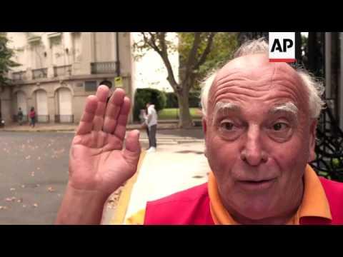 French citizens vote in Latin America