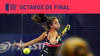 Resumen Octavos de Final Santander WOpen (segundo turno)