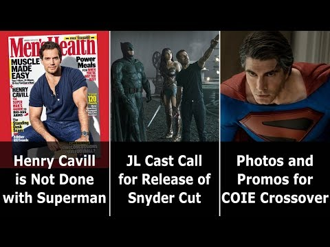 Henry Cavill Is NOT Done With Superman - Speeding Bulletin (November 13-19, 2019)