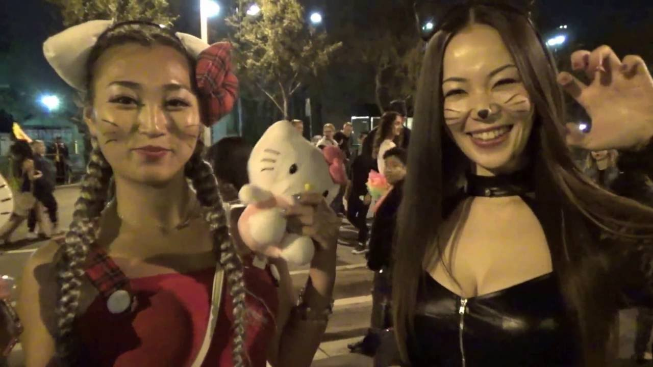 Pictures From West Hollywood Halloween Parade 2020 West Hollywood Halloween Carnaval 2016   YouTube