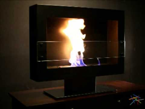 Anywhere Fireplace Tribeca II Anywhere Indoor Fireplace - Product Review Video
