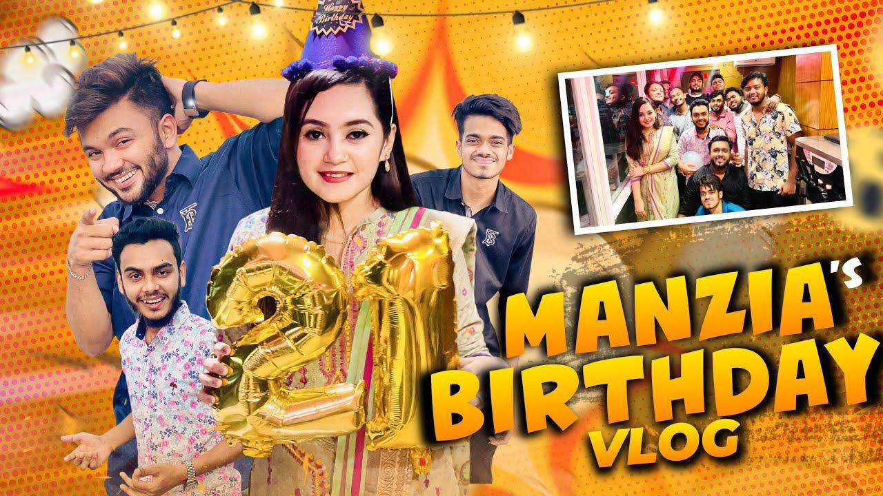 ১ বছর অপেক্ষা করি এই দাওয়াত খাওয়ার জন্য | Manzia Fimu Birthday Vlog