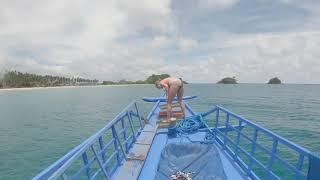 Girls Fails at Backflip Off Boat - 1061340