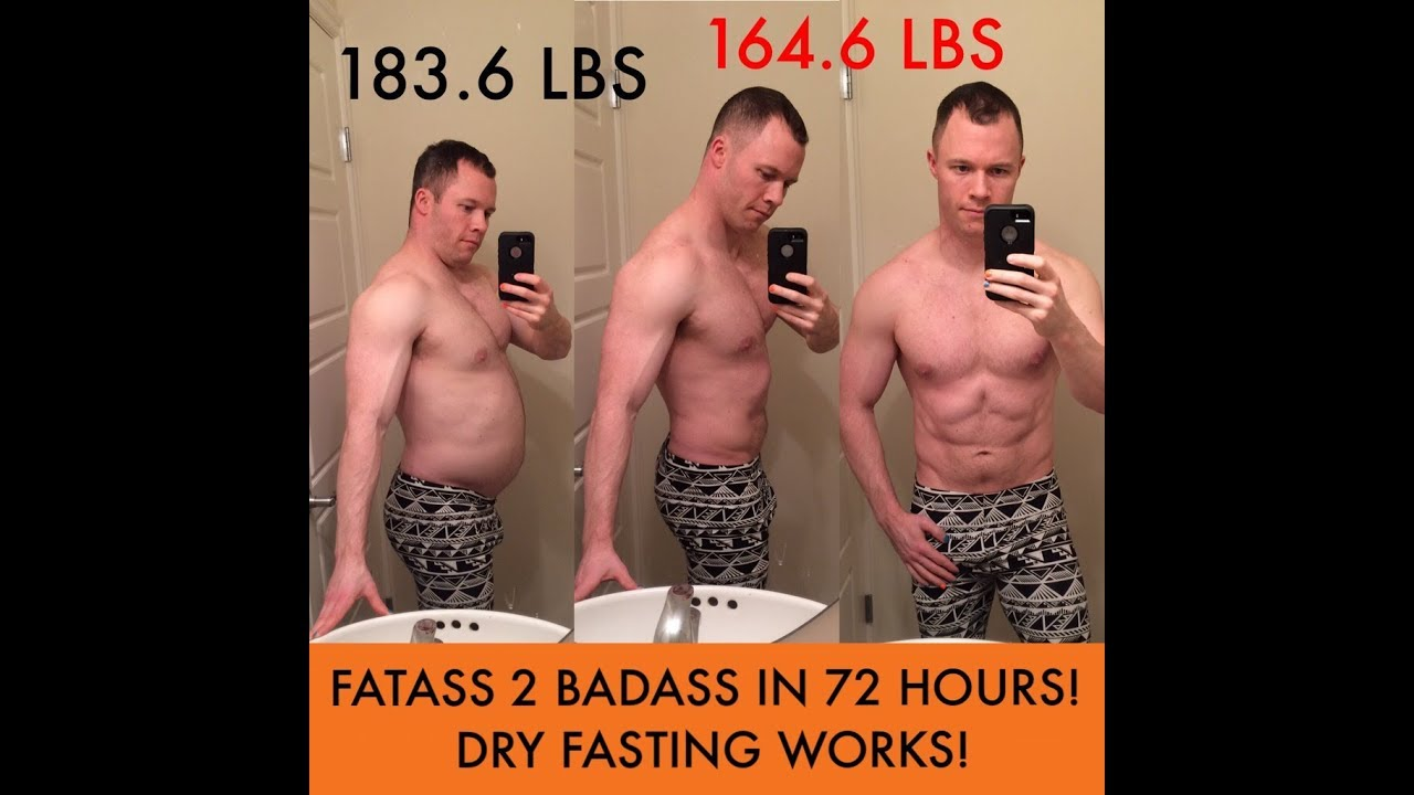 72 hour fast weight loss