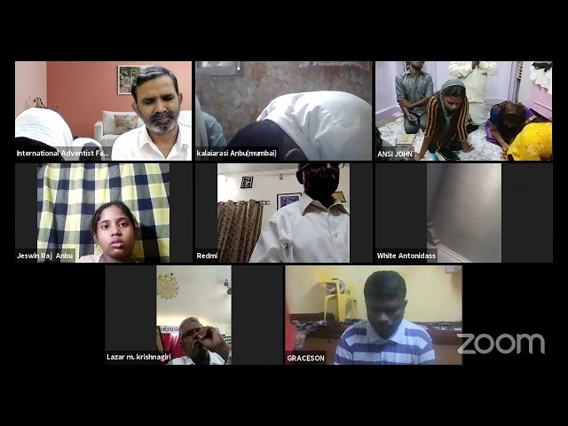International Adventist Family in Christ | Sabbath Service | Pr. Chelladurai {Chennai}