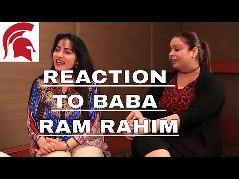 Reaction to baba ram rahim interview | Ram Rahim funny interview