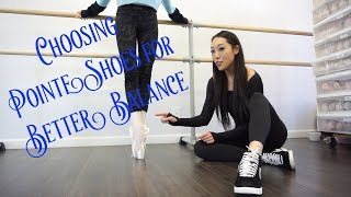 Pointe Shoe Fitting For Better Balance