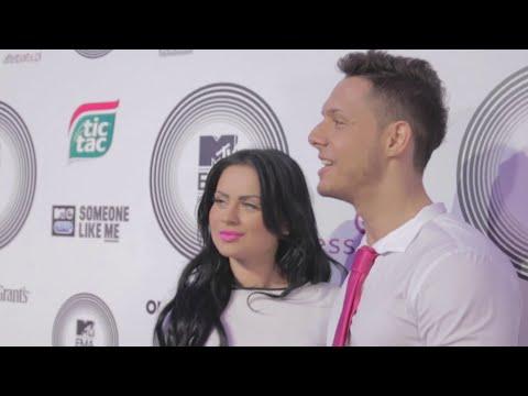 Ewelina i Paweł z Warsaw Shore na imprezie MTV [Plotek]