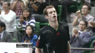 ATP Tokyo - Daily Highlights - Final - Murray vs Nadal