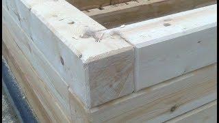 видео Как построить дом из профилированного бруса