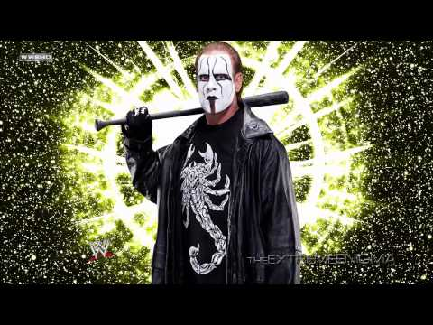 """2015: Sting 2nd and New WWE Theme Song """"Out From The Shadows"""" (V2)"""