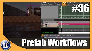 Unreal Engine 4 Beginner Tutorial Series - #36 Creating Prefabs
