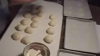 Shaping Kaiser Rolls