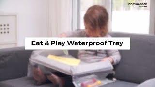 InnovaGoods Gadget Kids Eat & Play Waterproof Tray