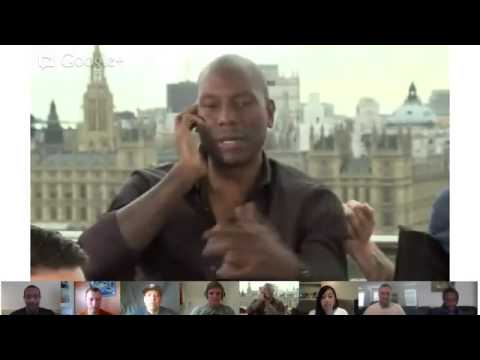 Fast & Furious 6 Fan Hangout With Paul Walker (in London)