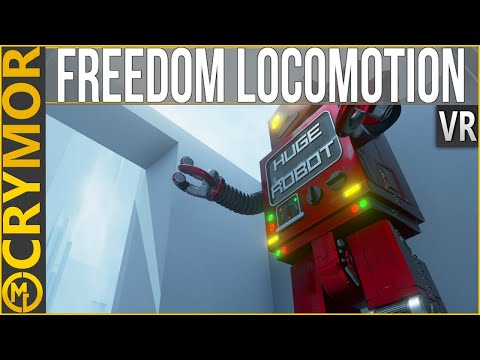 ⚖ Natural, Organic VR Movement | Freedom Locomotion VR | CONSIDERS VIRTUAL REALITY
