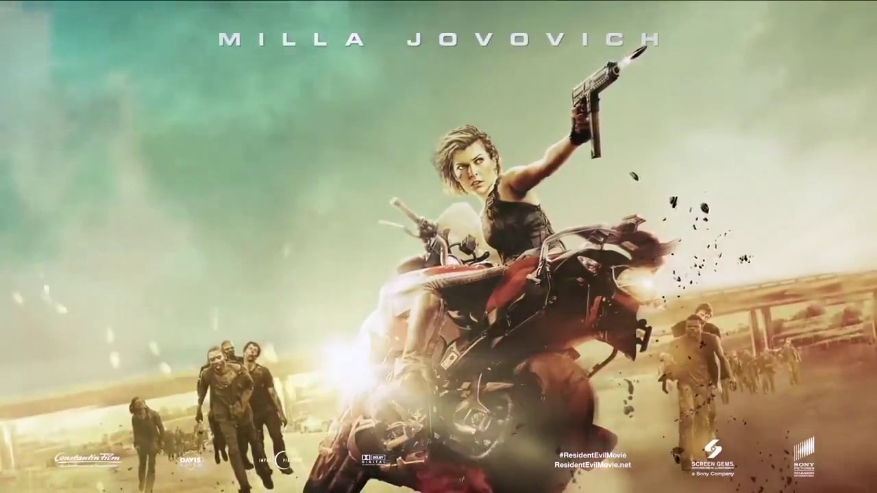 Resident Evil The Final Chapter: Resident Evil The Final Chapter Motion Poster