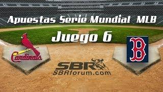 Cardinals vs Red Sox 2013 | Juego 6 Serie Mundial MLB | Apuestas Deportivas en Baseball