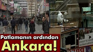 Kızılay'daki Patlamanın Ardından Ankara