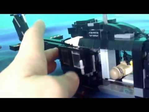 Lego huey and humvee swat
